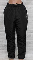 Штани жіночі теплі зимові, без манжетів, розміри батал 52-60