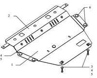 Защита двигателя Citroen C4 Picasso 2006-2013