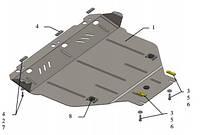 Защита двигателя Ford Kuga 2008-2013