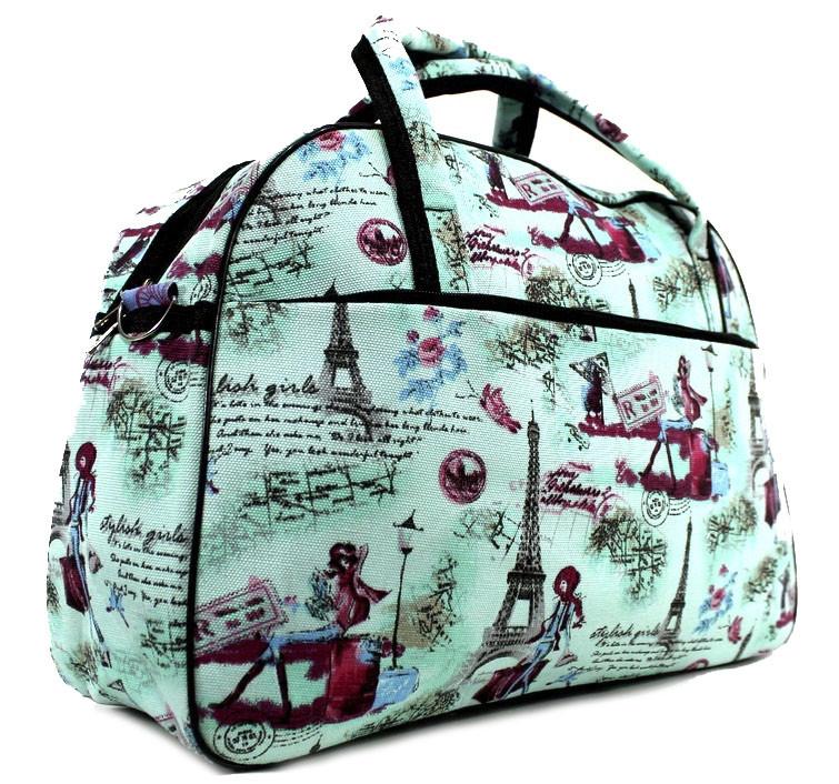 Яркая и практичная женская сумка-саквояж J-193