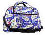 Яркая и практичная женская сумка-саквояж J-193, фото 7