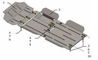 Защита двигателя Great Wall Wingle6 2014-