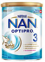 Суміш молочна Nestle NAN 3 Optipro (з 12 місяців) 800 г