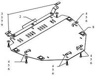 Захист двигуна Хонда СР-В / Honda CR-V III 2007-2013