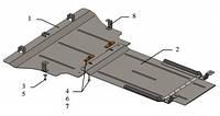 Защита двигателя Hyundai Equus 2013-