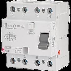 Дифференциальные реле EFI 4-полюсные EFI6-4/EFI6-P4 (Icu-6kA), EFI-4/EFI-P4 (10kA) тип АС