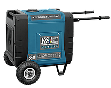 Газ-бензиновый инверторный генератор KS 7200iESG PROFI (7 кВт, ел.старт, 230V)