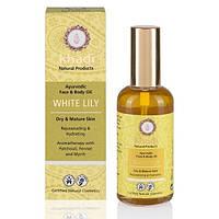 Аюрведическое масло для лица и тела с белой лилией - Khadi 100ml