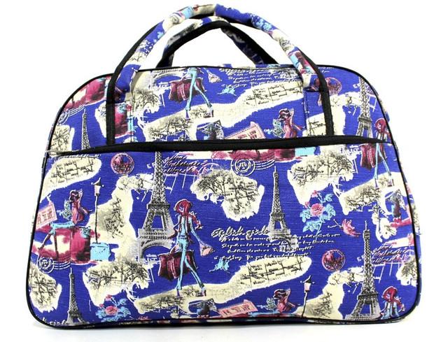 Яркая и практичная женский сумка-саквояж J-193