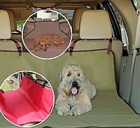 Подстилка чехол на автомобильное сиденье для домашних животных, Pet Zoom Loungee Auto (ЗЕЛЕНАЯ)