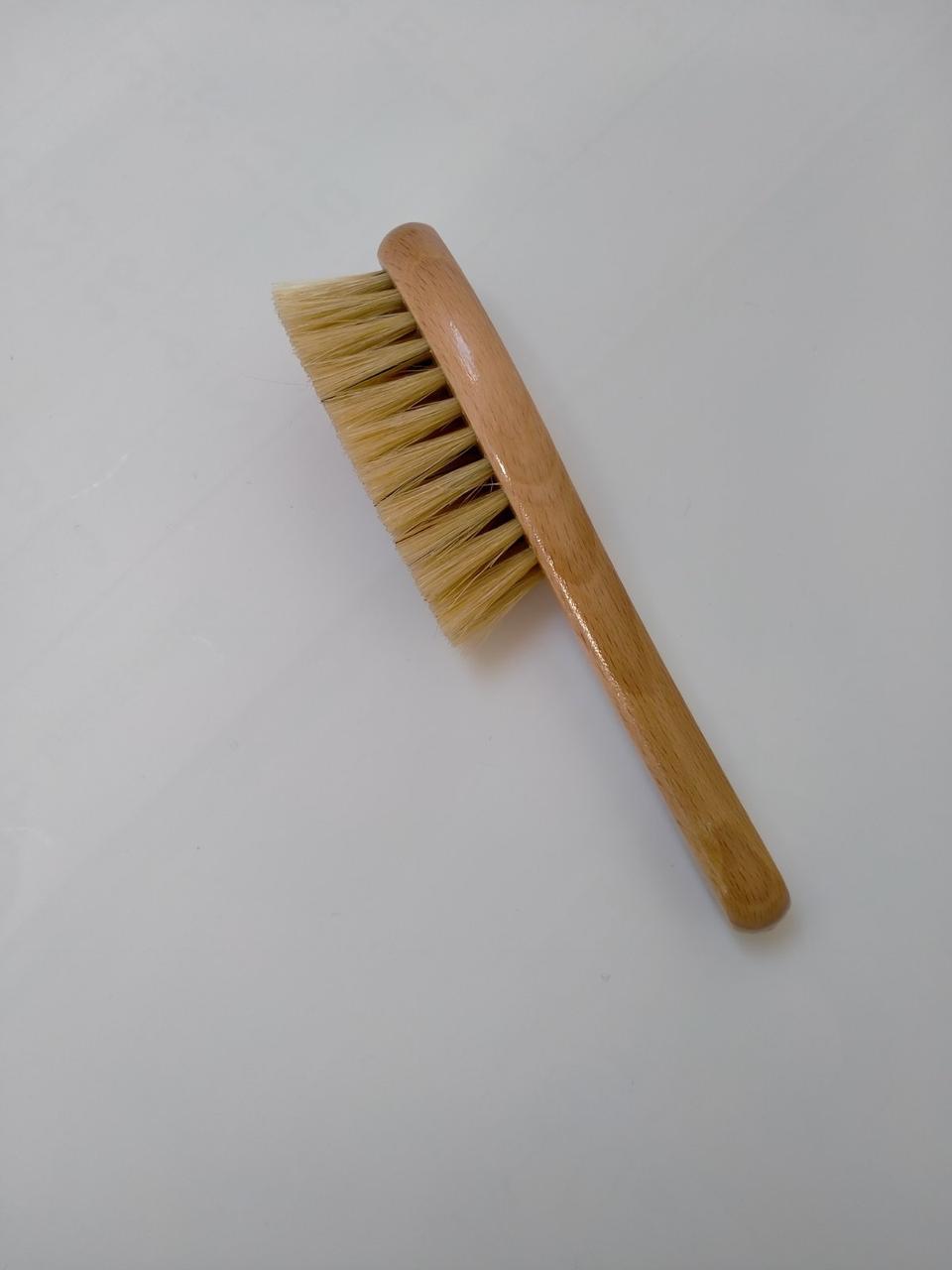 Щетка для волос младенцев из натуральной щетины