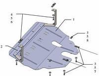 Защита двигателя Seat Cordoba 2007-2009