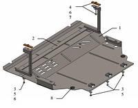 Защита двигателя Seat Leon 2013-