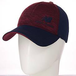 Бейсболка BSH19753 тсиний-бордовый