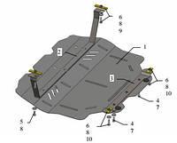 Защита двигателя Volkswagen Caddy WeBasto 2011-