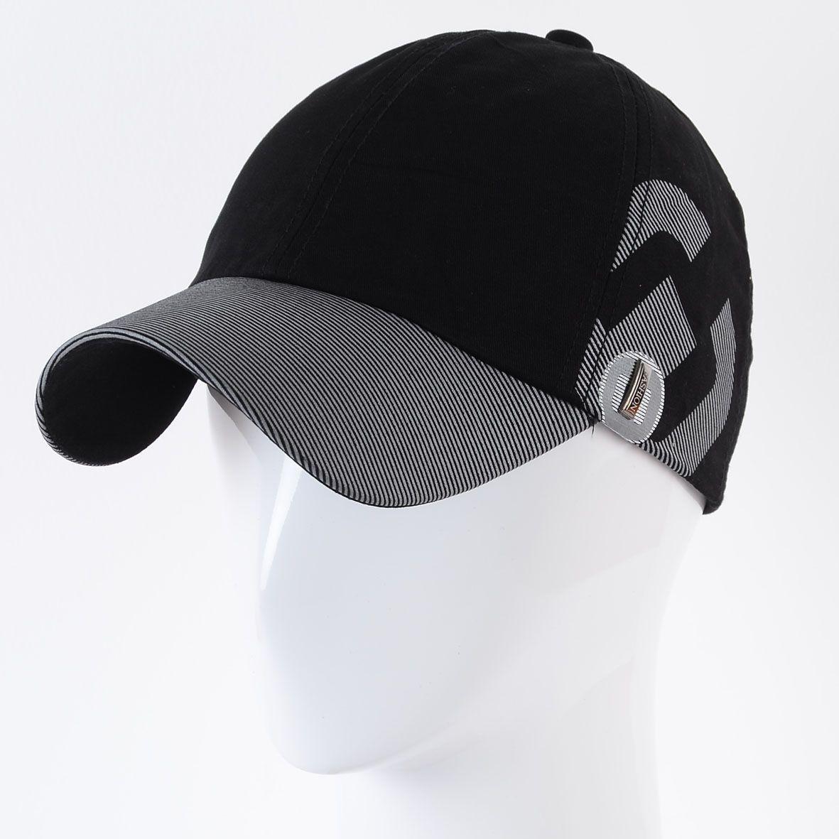 Бейсболка K17002 черный