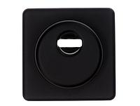 Броненакладка для цилиндрового замка Cipierre 310C/Q/SV/25 квадрат черный (Италия), фото 1