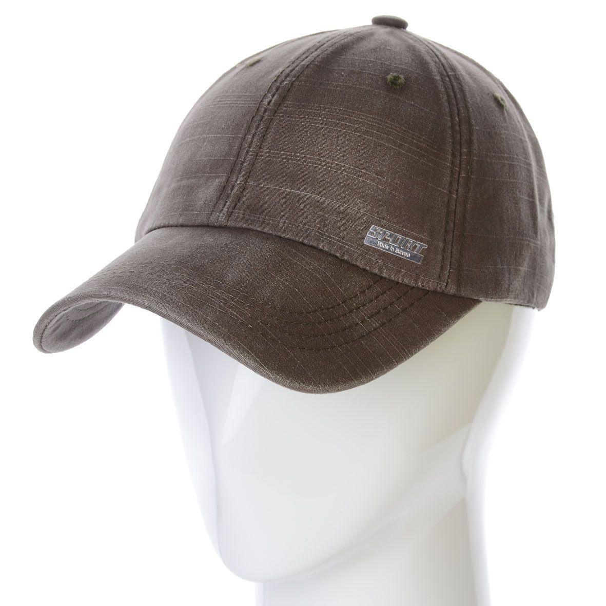 Бейсболка K17007 коричневый