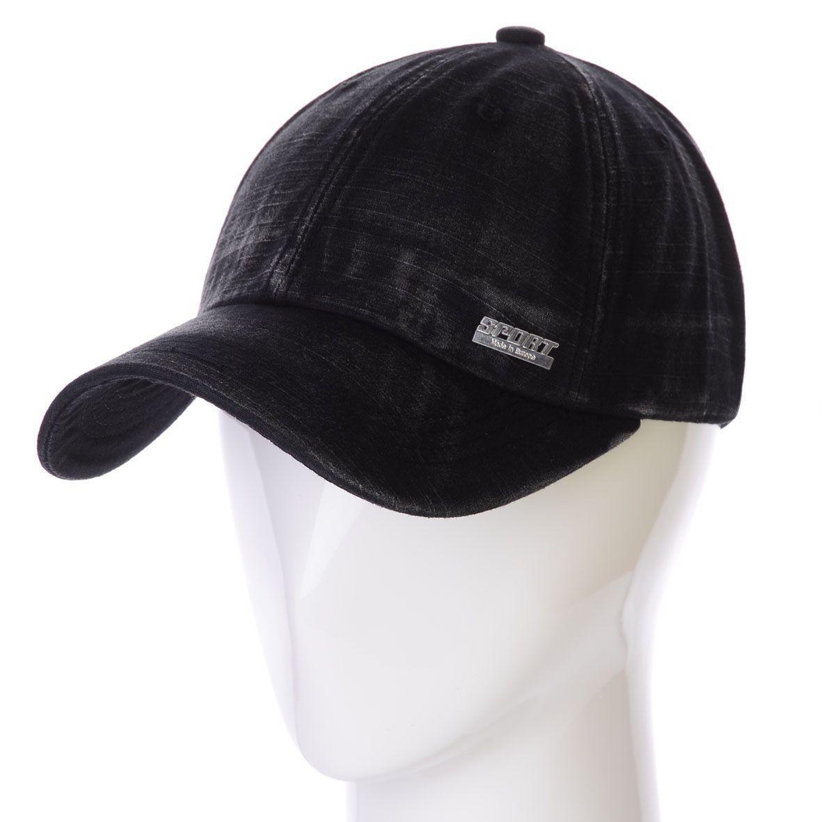 Бейсболка K17007 черный