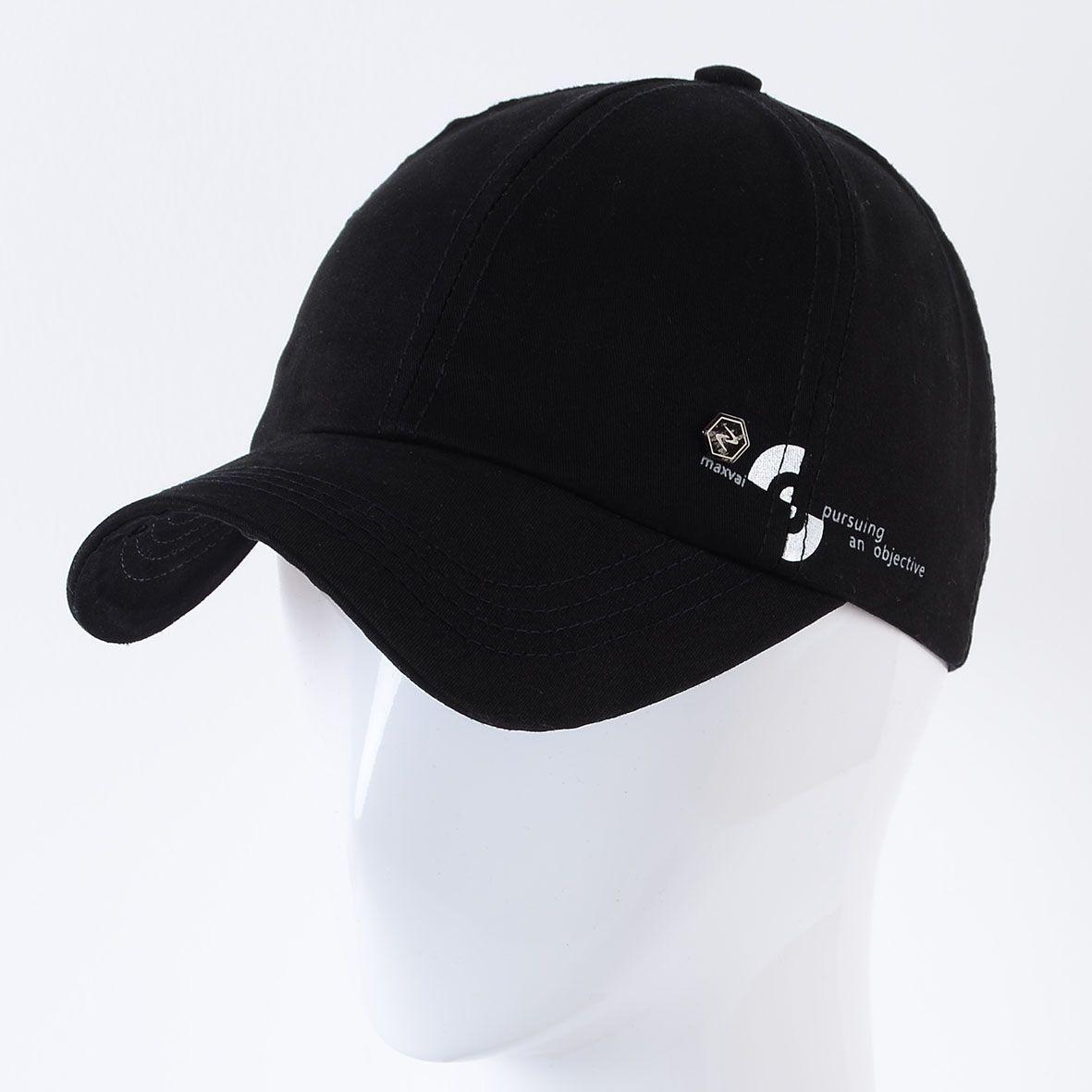 Бейсболка K17015 черный