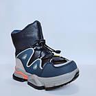 Дутики чоботи сноубутсы зима на хлопчика Тм Tom M, р 29, устілка 18,8 см Теплі зимові чобітки на змійці, фото 9