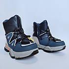 Дутики чоботи сноубутсы зима на хлопчика Тм Tom M, р 29, устілка 18,8 см Теплі зимові чобітки на змійці, фото 3