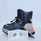 Дутики чоботи сноубутсы зима на хлопчика Тм Tom M, р 29, устілка 18,8 см Теплі зимові чобітки на змійці, фото 10