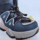 Дутики чоботи сноубутсы зима на хлопчика Тм Tom M, р 29, устілка 18,8 см Теплі зимові чобітки на змійці, фото 5