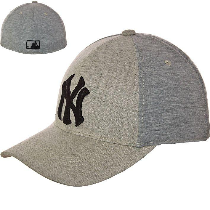 Бейсболка KC16038 серый