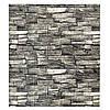 Декоративная 3Д панель стеновая Серый Камень (моющиеся 3d панели для стен) каменная кладка 700x770x5 мм