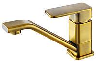 Смеситель для раковины однорычажный Kaiser Sonat 34010-1 Bronze G