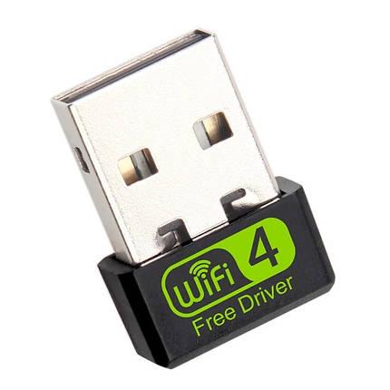USB-WiFi адаптер 150 Мбит/сек драйвера не требуются (mini), фото 2