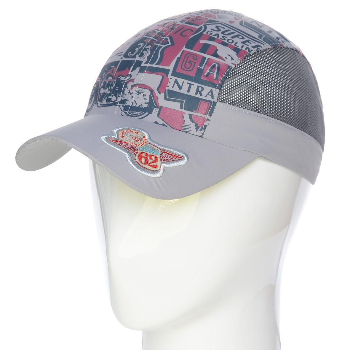 Бейсболка PLD17001 светло-серый