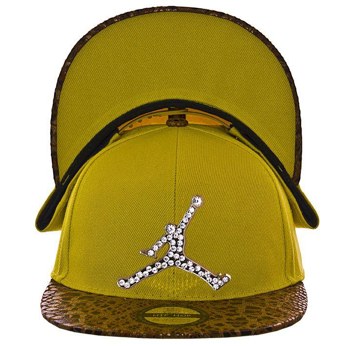 Кепка с прямым козырьком RB15017 желтый-коричневый