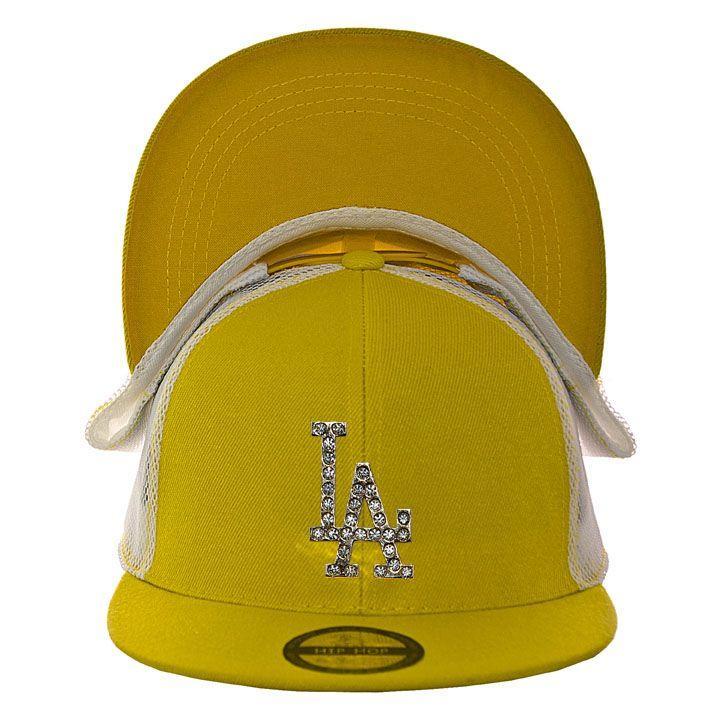 Кепка с прямым козырьком RB15021 желтый