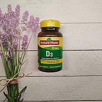Nature Made Vitamin D-3 , 300 tab 1000 IU , витамини Д 3 США, фото 1