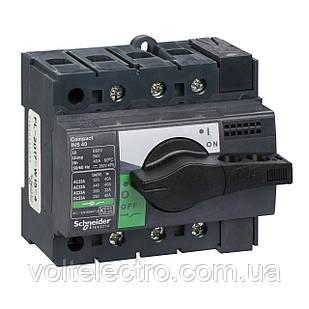 Вимикач-роз'єднувач навантаження Compact INS80 3P - 3 полюси - 80 A