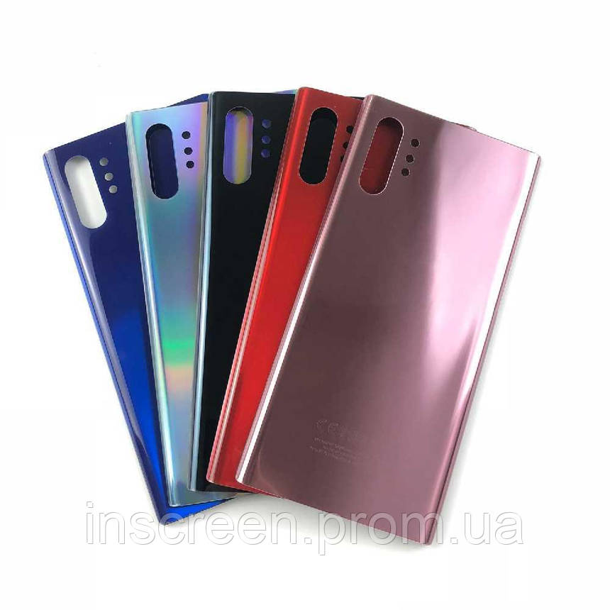 Задня кришка Samsung N970F Galaxy Note10 синя, фото 2
