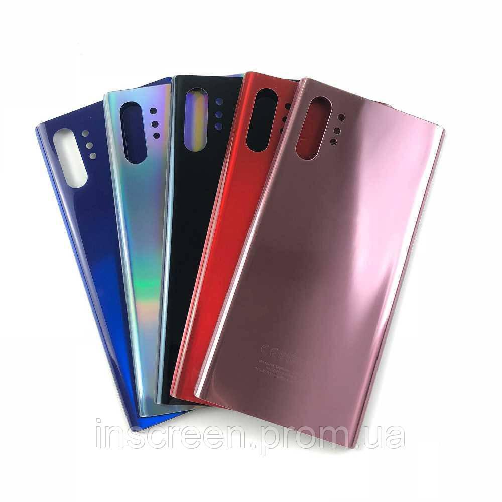 Задня кришка Samsung N975F Galaxy Note10 Aura Plus Glow срібляста
