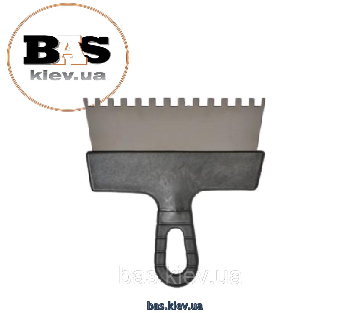 Зубчатый шпатель 300 мм зуб 6х6 мм