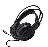 Навушники ігрові - гарнітура провідні VIPBEN V2000 D60, Чорні, фото 2