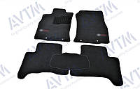 Килими салону Toyota FJ Cruiser 2006 - чорні, Premium ворсові, фото 1