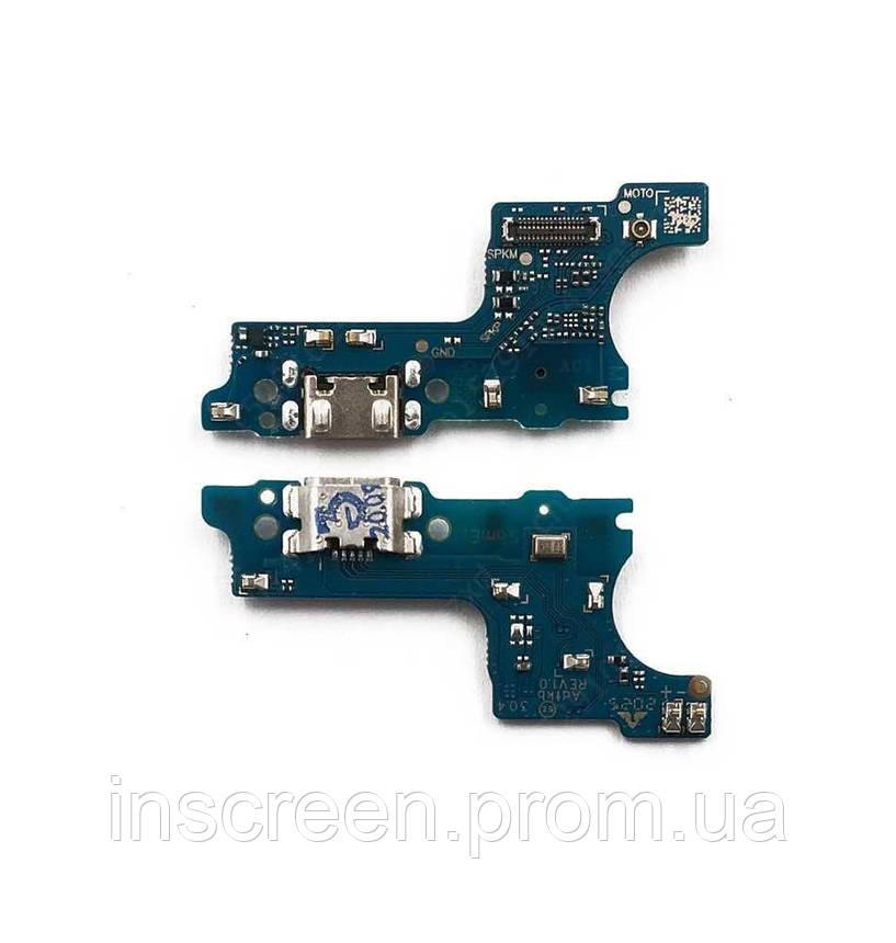 Плата зарядки Samsung A015 Galaxy A01 2019 с разьемом зарядки, микрофоном, фото 2