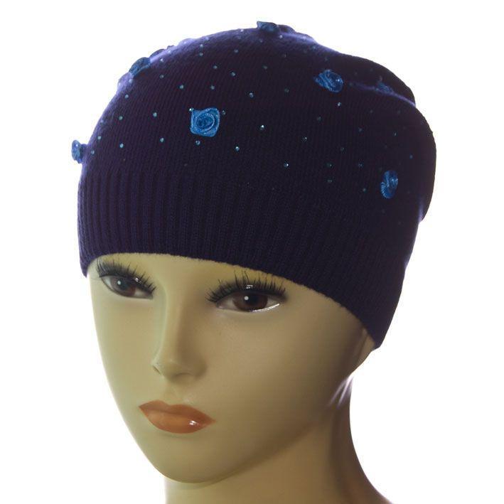 Шапка DD1622V темно-синий