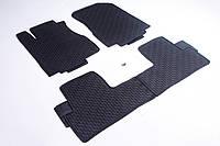 Ковры салона Honda CR-V 2012-2017 черные, 4шт