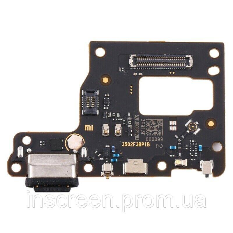 Плата зарядки Xiaomi Mi9 Lite, Mi 9 Lite с разъемом зарядки, микрофоном, фото 2