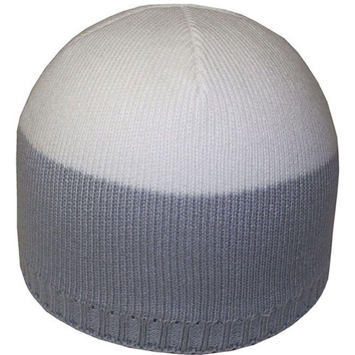 Шапка 12059 св.серый-белый