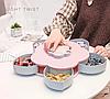 Коробка-органайзер для закусок на 10 отсеков / менажница для сладостей Снек-бокс.ВИДЕООБЗОР., фото 2