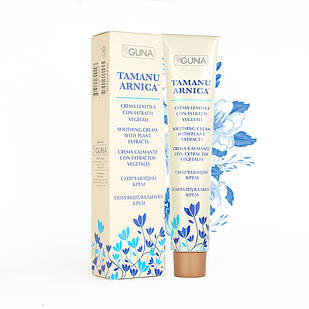 Tamanu Arnica. Успокаивающий противовоспалительный крем. Туба, 75 мл. GUNA (Италия)