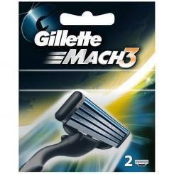 Змінні касети Gillette Mach 3  2 шт